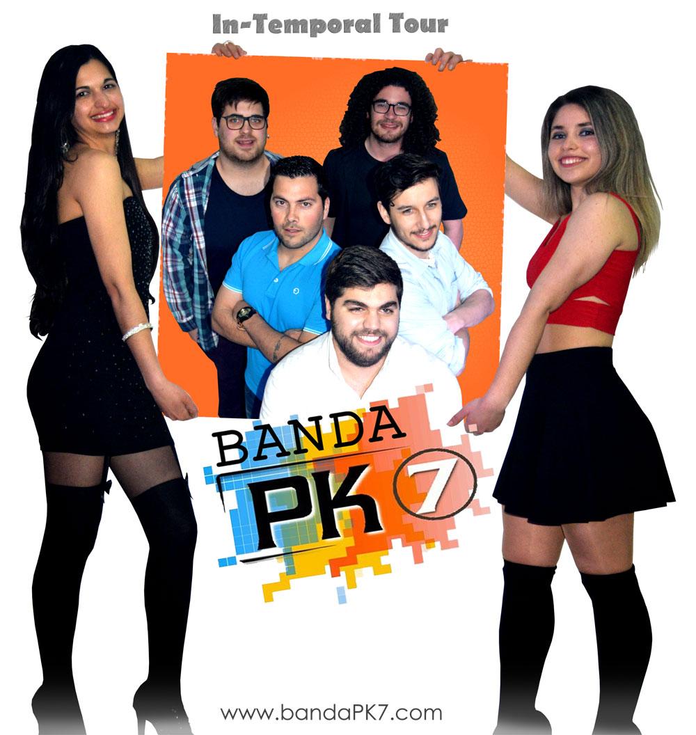 Banda PK7, 2016, Coimbra, Viseu, Banda de baile, Musica Portuguesa, Grupos musicais